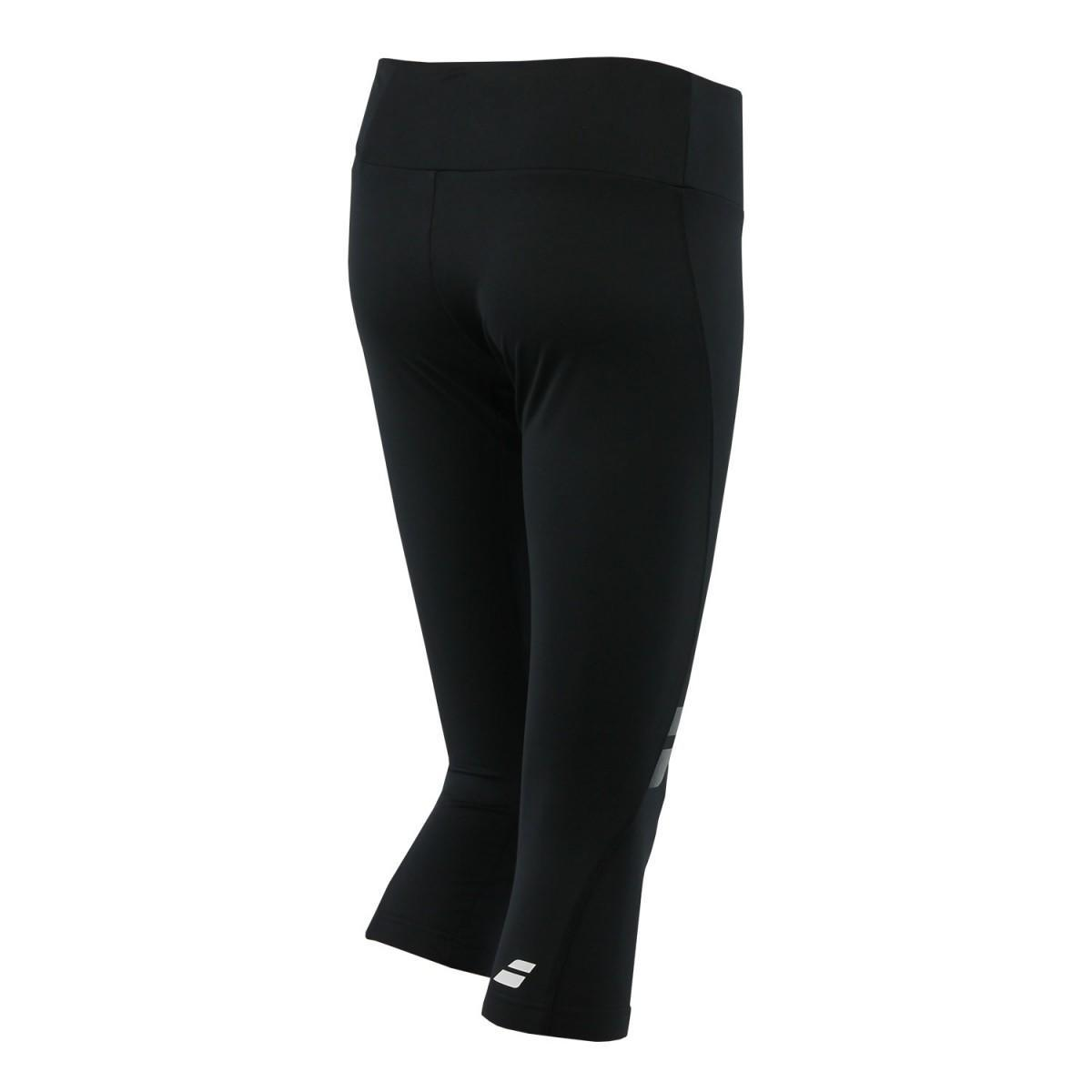 Капри женские Babolat Core Legging Women black/black