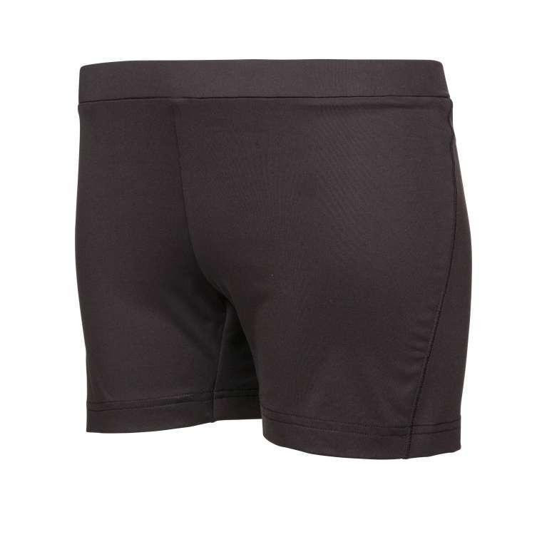 Теннисные шорты женские Babolat Core Shorty Women black  под платье