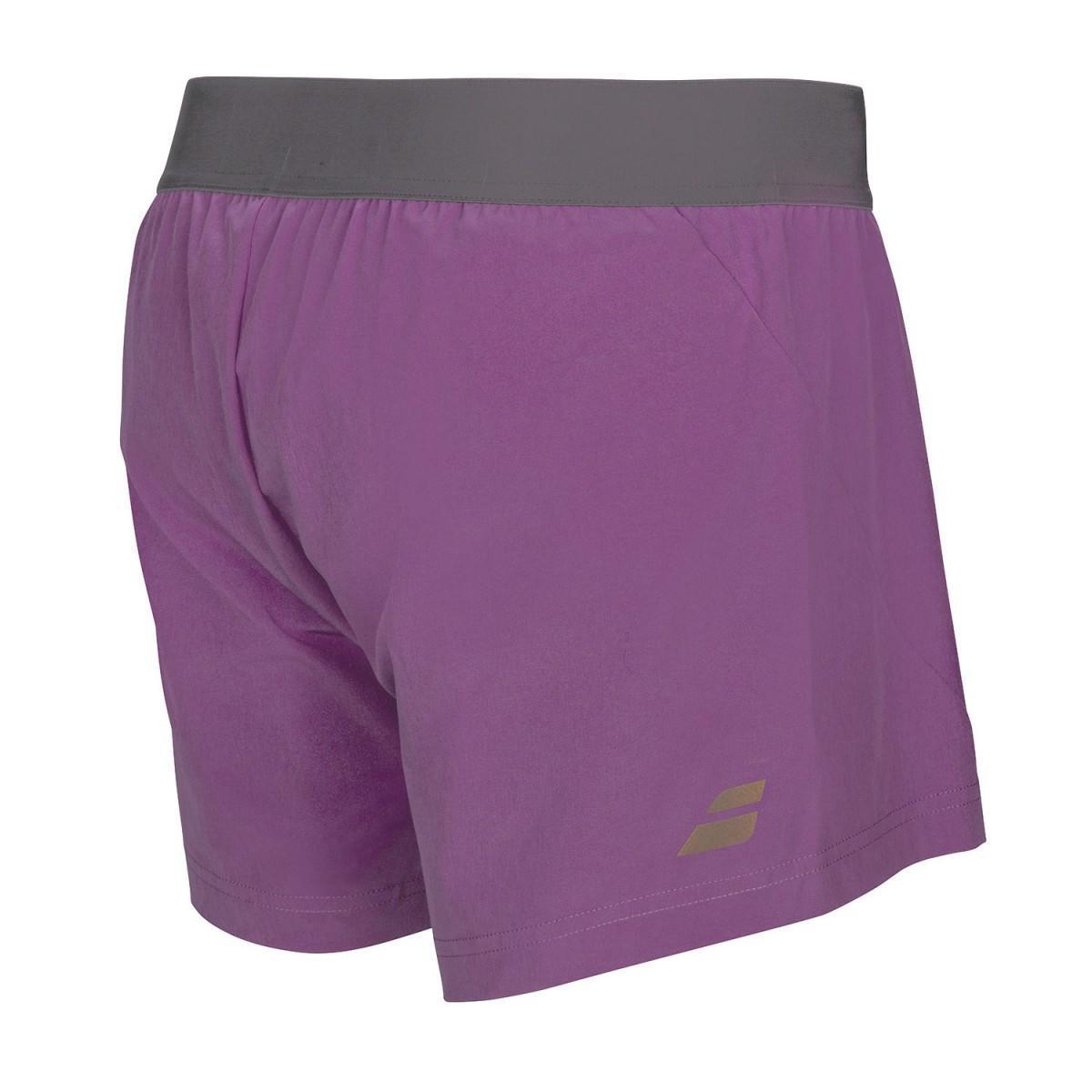 Теннисные шорты женские Babolat Performance Short Women purple