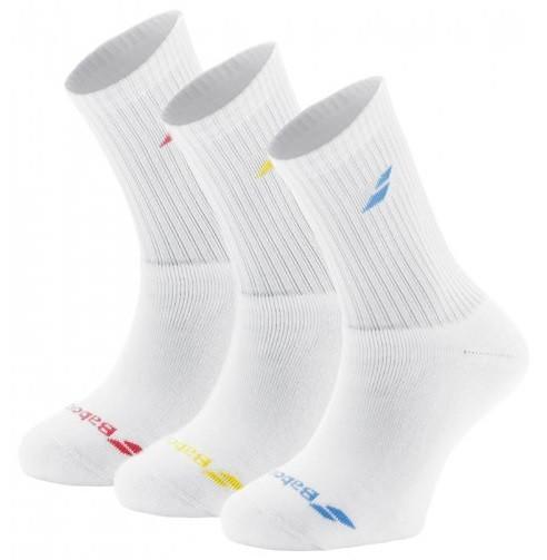 Носки детские Babolat 3 pairs pack junior multicolor