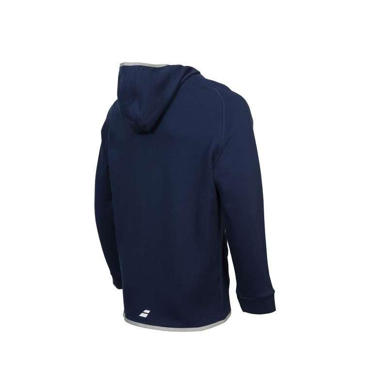 Кофта мужская Babolat  Hood Sweat  Core Men Wimbledon dark blue