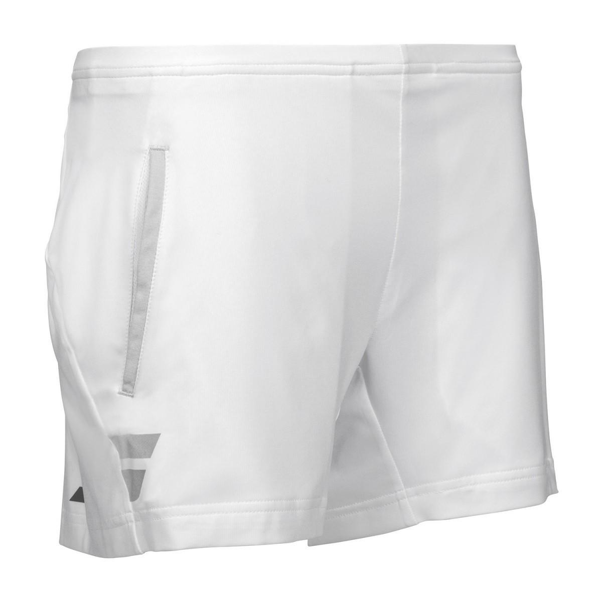 Теннисные шорты детские Babolat Core Short Girl white