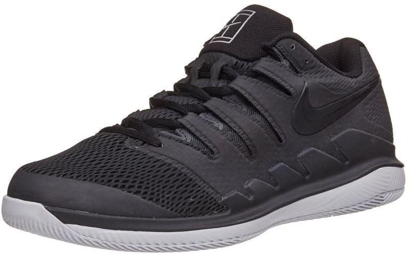 Теннисные кроссовки мужские Nike Air Zoom Vapor 10 HC black/vast grey