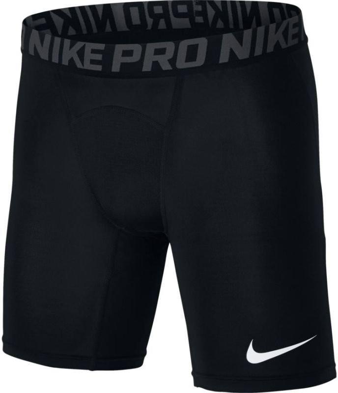 Теннисные шорты мужские Nike NP Short black/anthracite/white термошорты