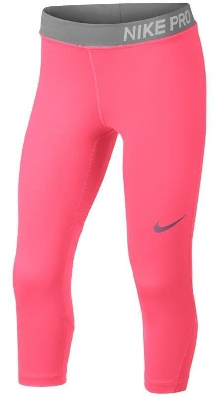 Капри детские Nike Pro Capri pink nebula/pink nebula/ashen slate