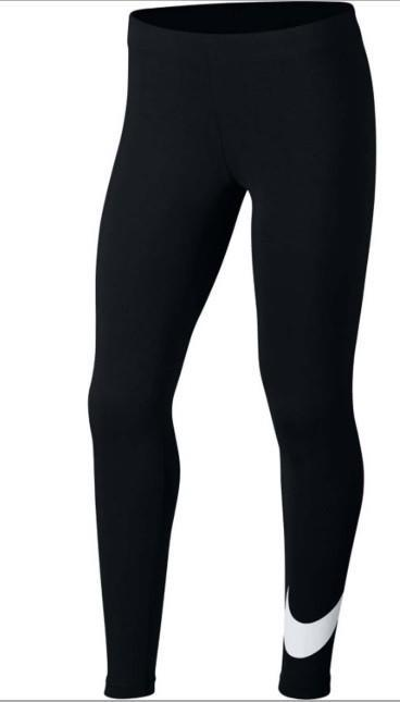 Легинсы детские Nike Favorites Swoosh Tight black/white