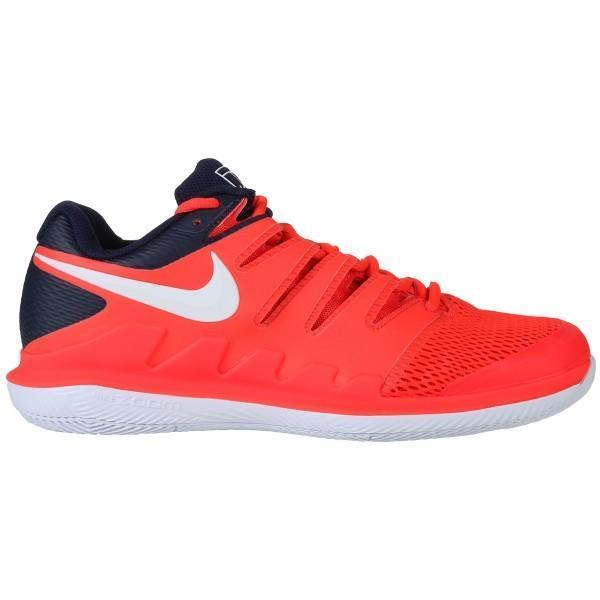 Теннисные кроссовки мужские Nike Air Zoom Vapor 10 HC fluo pink/navy