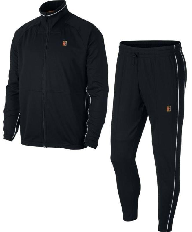 Костюм мужской Nike Court Essential Warm Up black/white/white