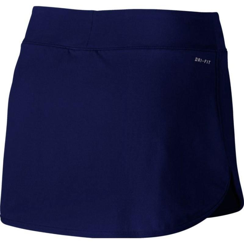 Теннисная юбка женская Nike Court Pure Skirt blue void/white