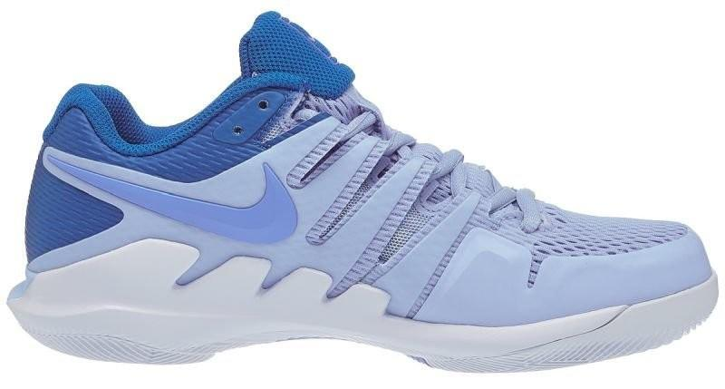 Теннисные кроссовки женские Nike WMNS Air Zoom Vapor 10 HC royal tint/royal pulse/white