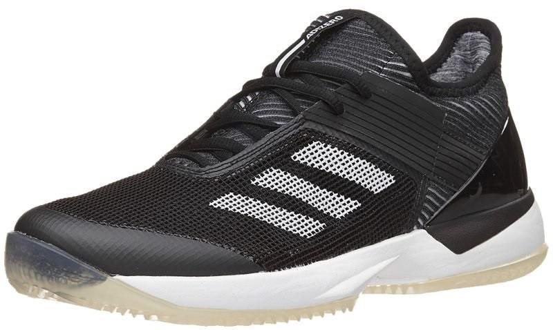 Теннисные кроссовки женские Adidas Adizero Ubersonic 3 W ГРУНТ core black/white/core black