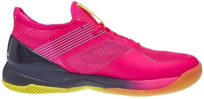 Теннисные кроссовки женские Adidas Adizero Ubersonic 3 W shock pink/legend ink/ftwr white