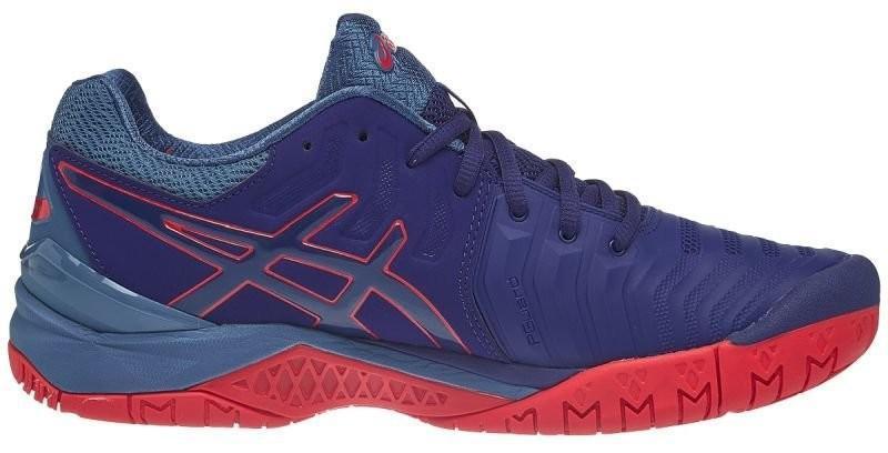 Теннисные кроссовки мужские Asics Gel-Resolution 7 blue print/blue print