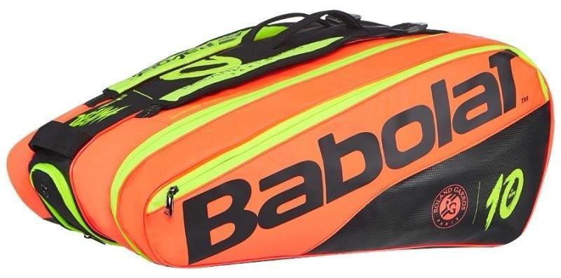 Теннисная сумка Babolat Pure Decima x12 Roland Garros - black/red/yellow