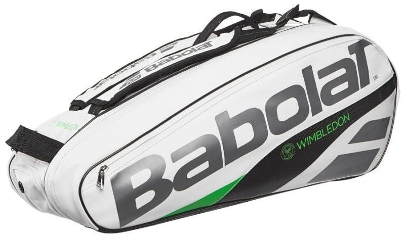 Теннисная сумка Babolat Pure Wimbledon x6 - white/green