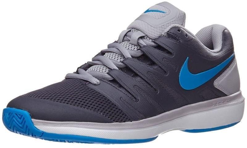 Теннисные кроссовки мужские Nike Air Zoom Prestige HC gridiron/photo blue