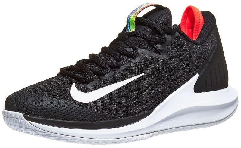 Теннисные кроссовки мужские Nike Court Air Zoom Zero black/white/bright crimson