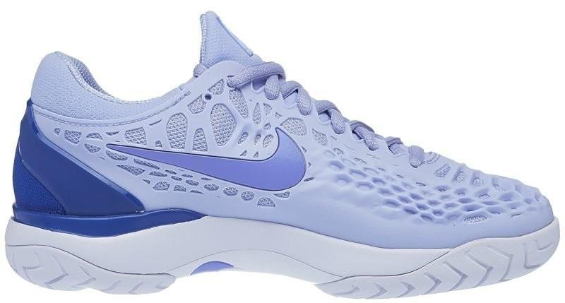 Теннисные кроссовки женские Nike WMNS Air Zoom Cage 3 HC royal tint/monarch purple