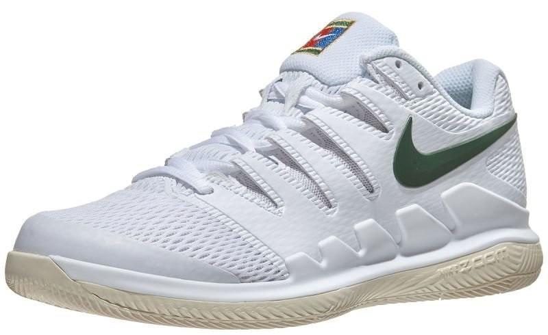 Теннисные кроссовки женские Nike WMNS Air Zoom Vapor 10 HC white/gorge green/light cream
