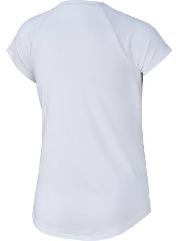 Теннисная футболка детская Nike Court Pure Top white/black