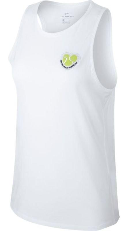 Теннисная майка женская Nike Court Tank Tomboy white