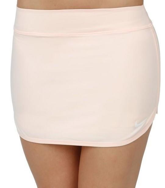 Теннисная юбка женская Nike Court Pure Skirt guava ice/white