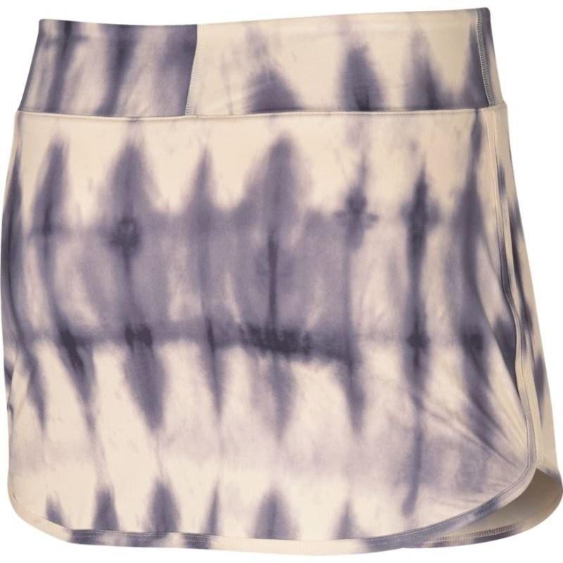 Теннисная юбка женская Nike Court Pure Skirt Printed guava ice/white