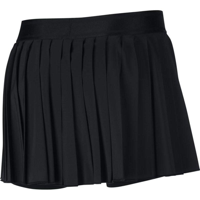 Теннисная юбка женская Nike Court Victory Skirt black/black