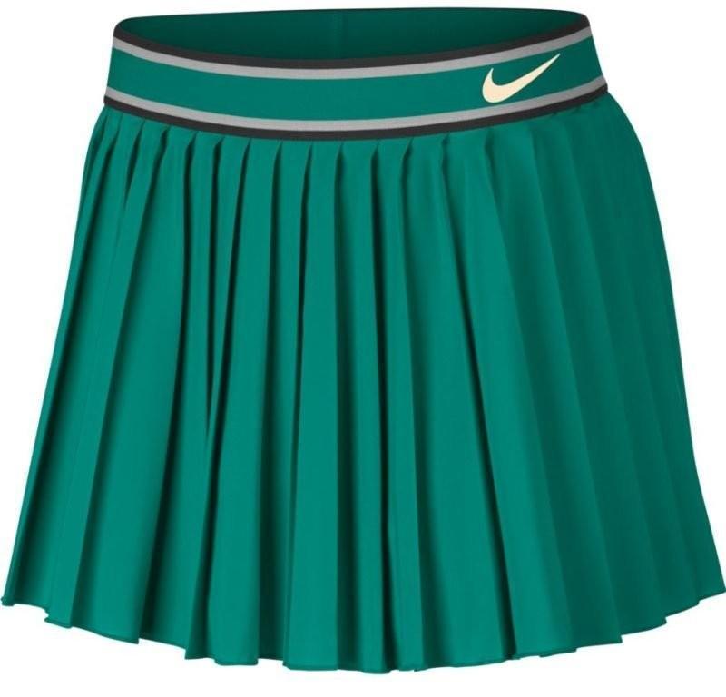 Теннисная юбка женская Nike Court Victory Skirt neptune green/guava ice