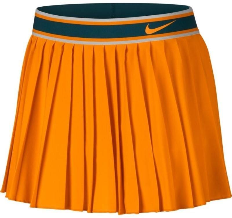 Теннисная юбка женская Nike Court Victory Skirt orange peel/orange peel