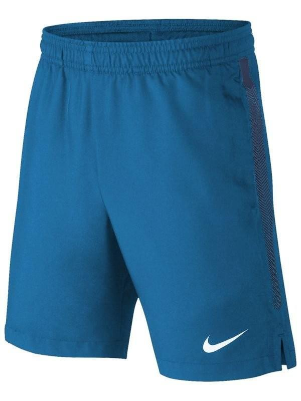 Теннисные шорты детские Nike Court Boys Dry Short military blue/blue void/white
