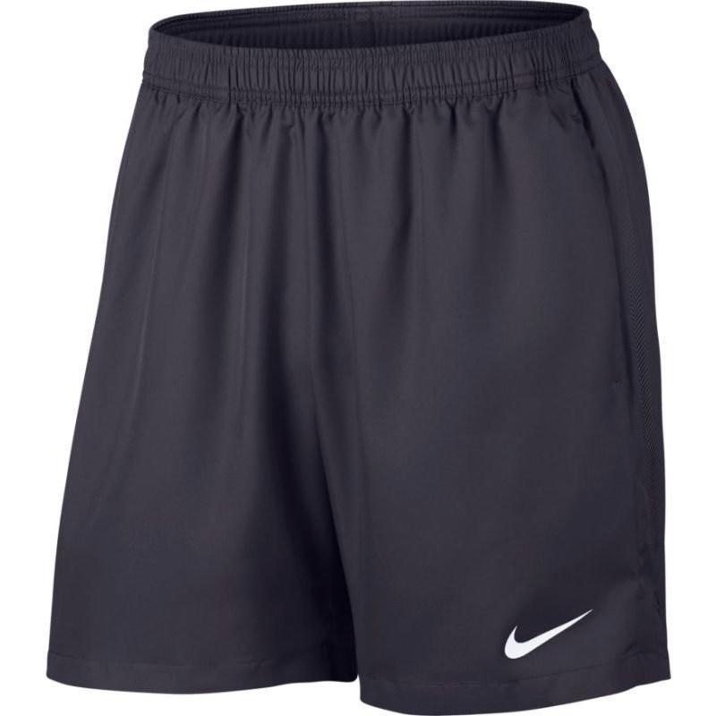 Теннисные шорты мужские Nike Court Dry Short 7 gridiron/gridiron/white