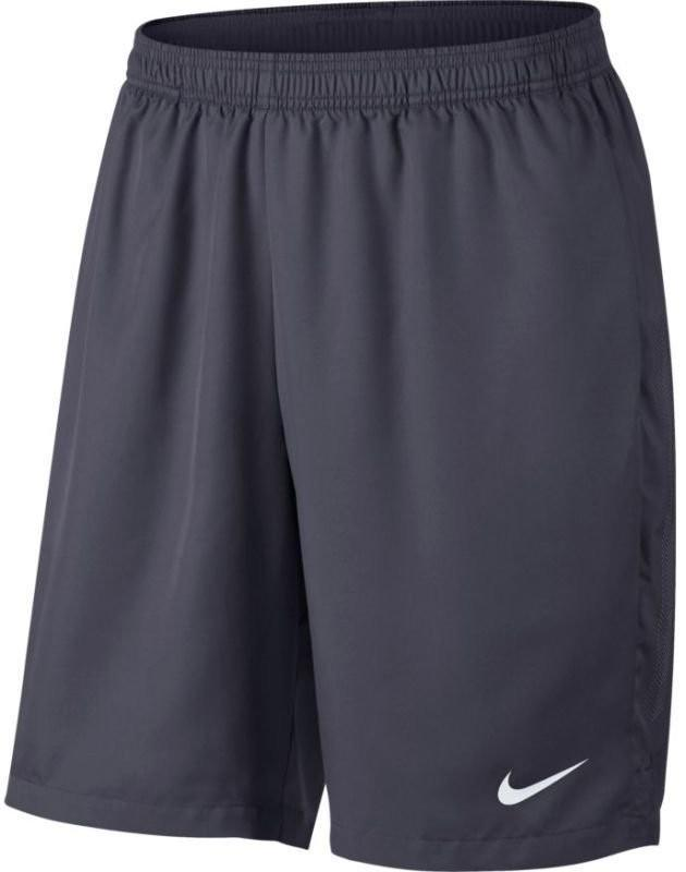 Теннисные шорты мужские Nike Court Dry Short 9 gridiron/gridiron/white