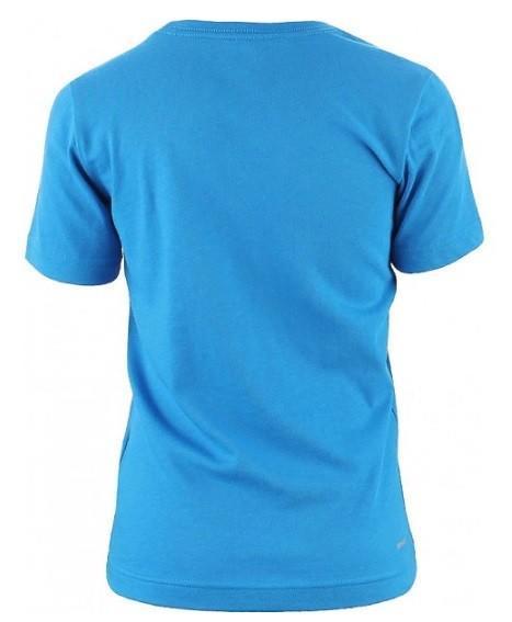 Теннисная футболка детская Adidas Tee Junior Essential Logo Blue/White
