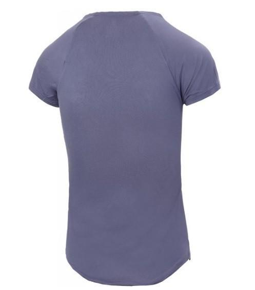 Теннисная футболка детская Nike Pure Top Girl's purple slate/black