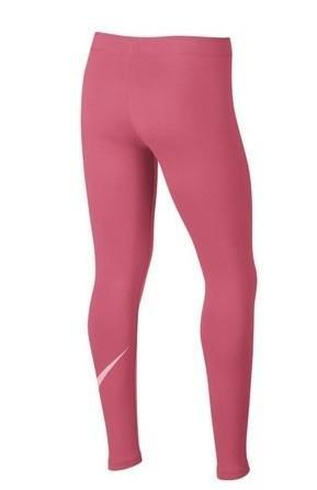 Легинсы детские Nike Favorites Swoosh Tight pink nebula/pink