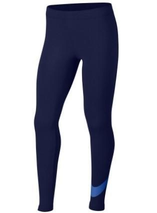 Легинсы детские Nike Favorites Swoosh Tight blue void/signal blue