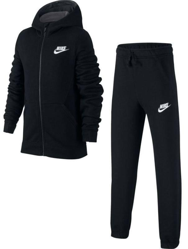 Спортивный костюм детский Nike Boy's NSW Track Suit BF Core black/anthracite/anthracite/white