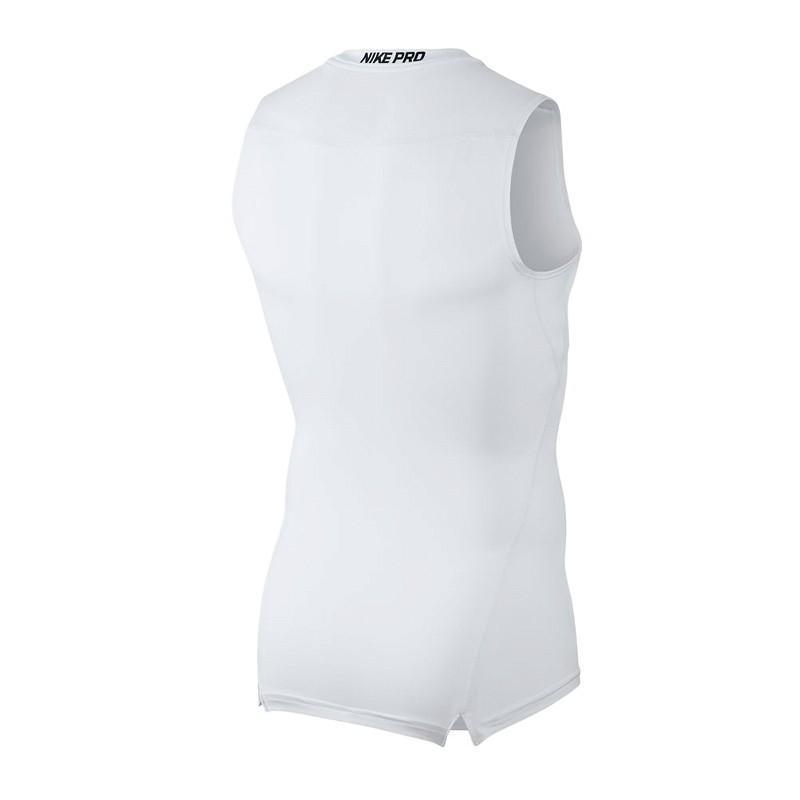 Термомайка мужская Nike Top SL Comp white/black/black