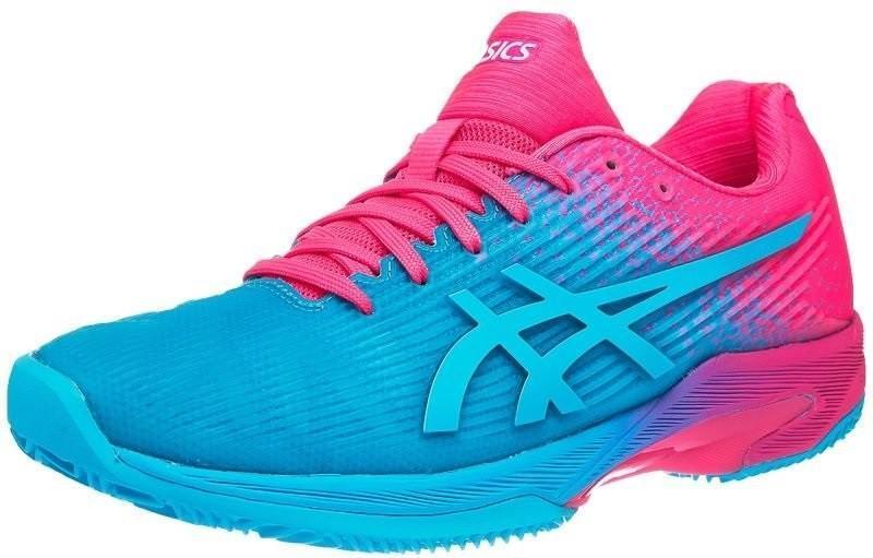 Теннисные кроссовки женские Asics Solution Speed FF L.E.
