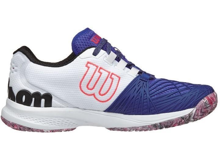Теннисные кроссовки мужские Wilson Kaos 2.0 dazzling blue/white/neon red