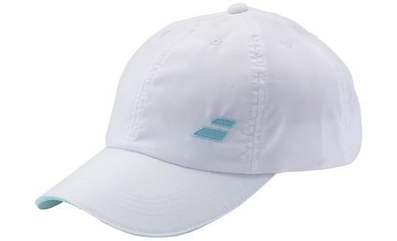 Кепка детская Babolat Basic Logo Cap Junior white/light blue