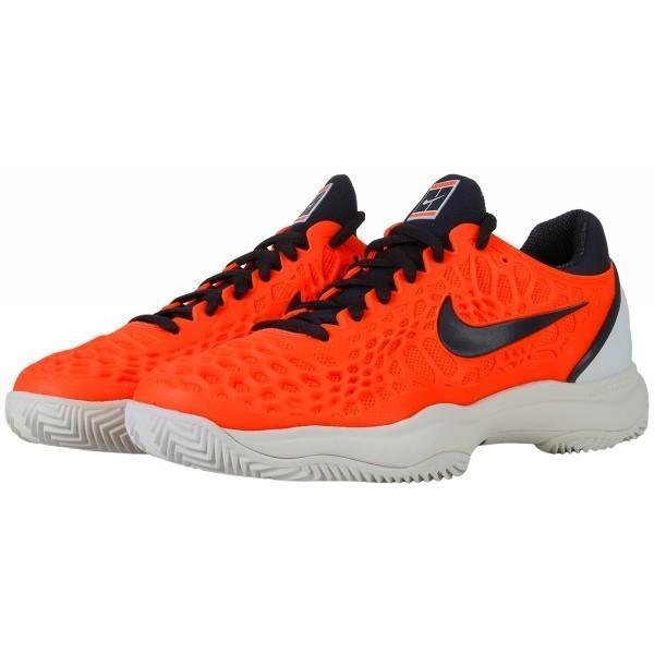 Детские теннисные кроссовки Nike Air Zoom Cage 3 Грунт Jr hyper crimson/gridiron/white
