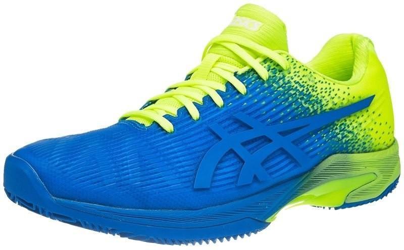 Теннисные кроссовки мужские Asics Solution Speed FF Clay L.E. imperial/flash yellow