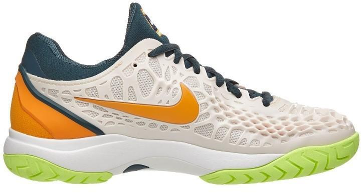 Теннисные кроссовки женские Nike WMNS Air Zoom Cage 3 HC guava Ice/midnight spruce/orange peel