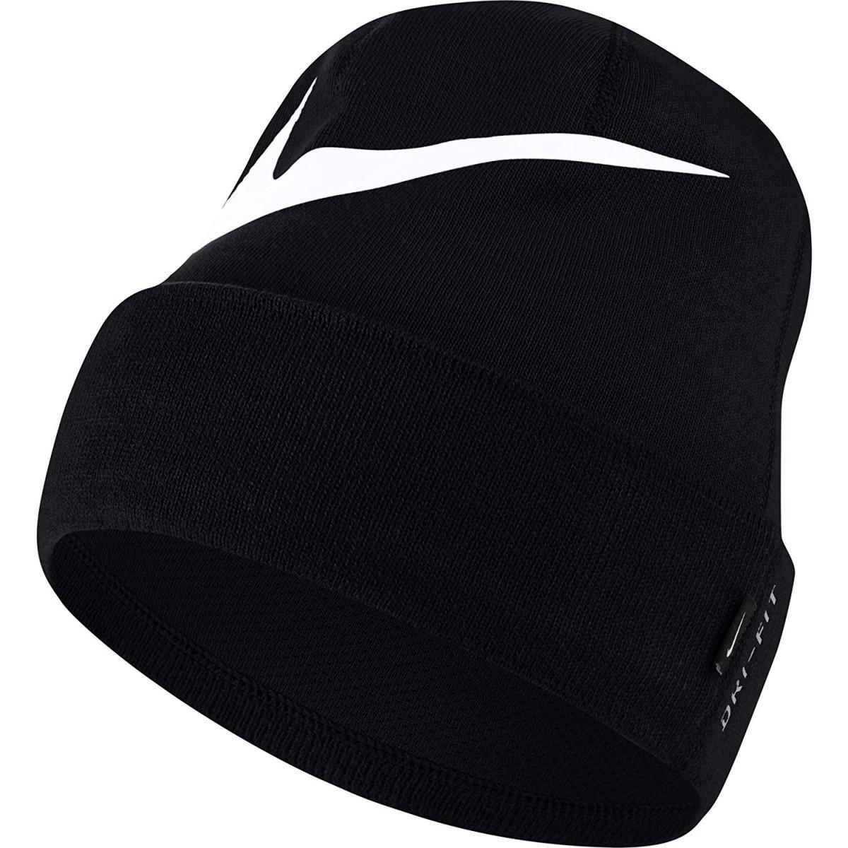 Спортивная шапка Nike Swoosh Cuffed Beanie black/white