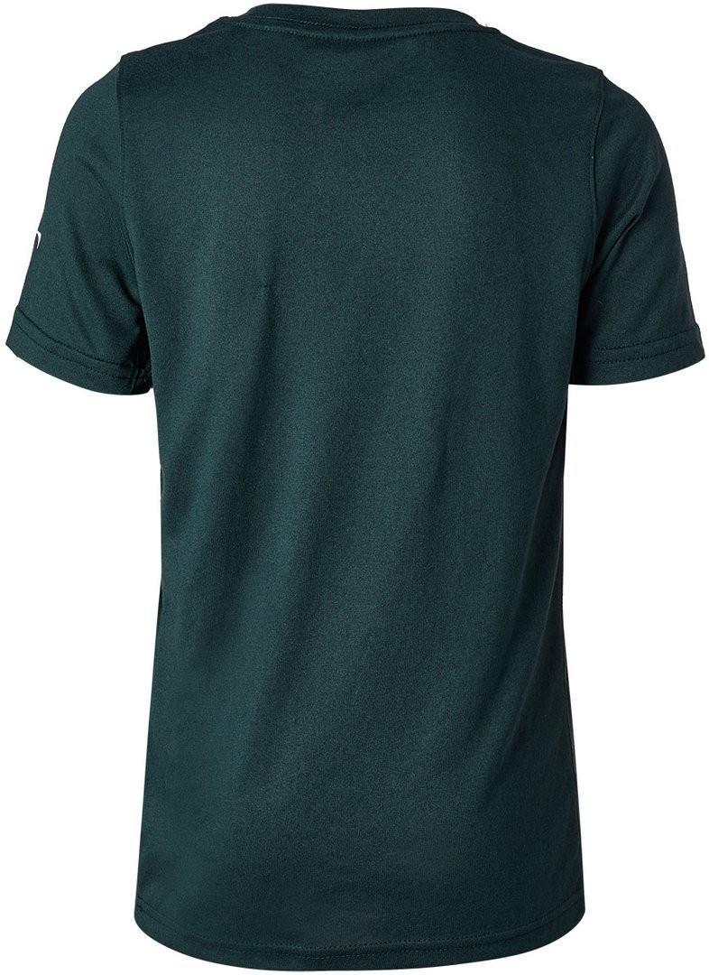 Теннисная футболка детская Nike Court RF Tee NY midnight spruce/guava ice