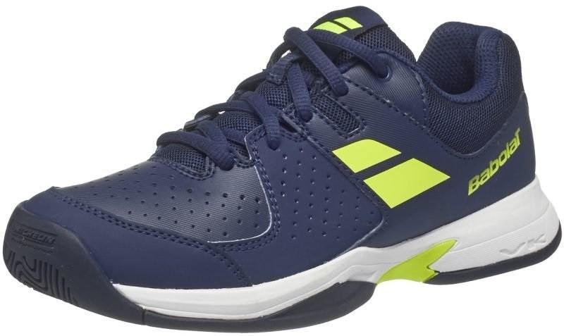 Детские теннисные кроссовки Babolat Pulsion All Court Junior  blue/yellow