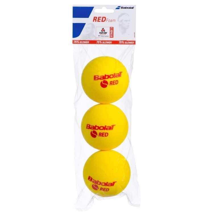 Мячи для тенниса Babolat Red Foam 3-Ball