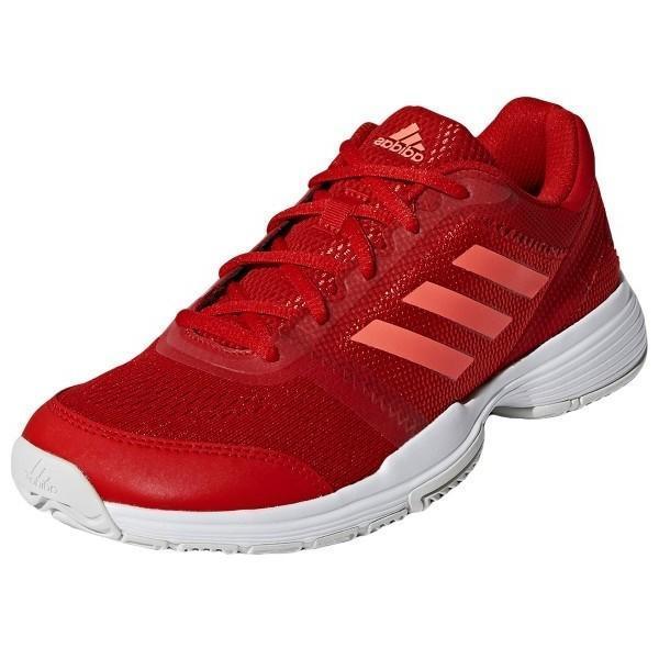Теннисные кроссовки женские Adidas Barricade Club W red